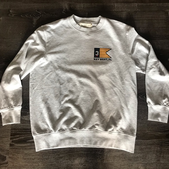 518683001 H&M Sweaters | Hm Graphic Sweatshirt Key West Fl | Poshmark